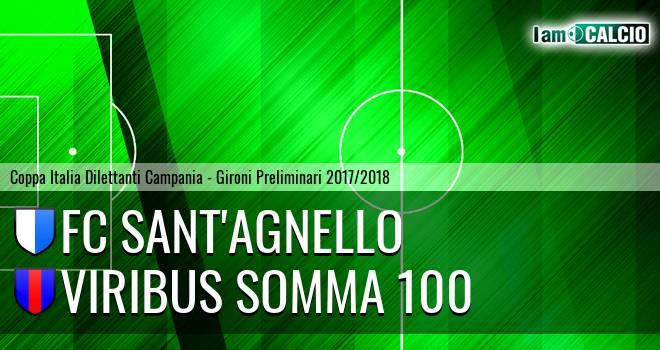 FC Sant'Agnello - Viribus Somma 100