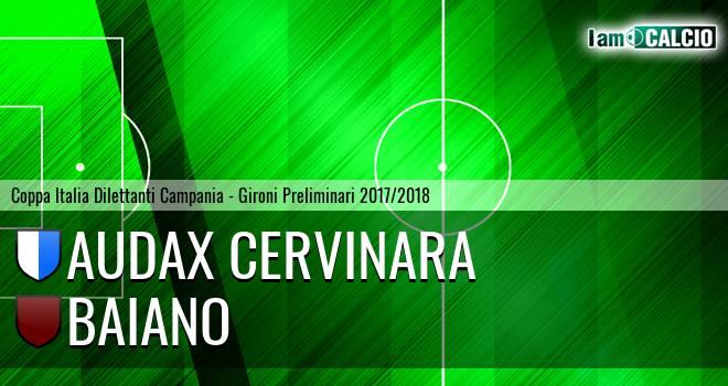 Audax Cervinara - Baiano