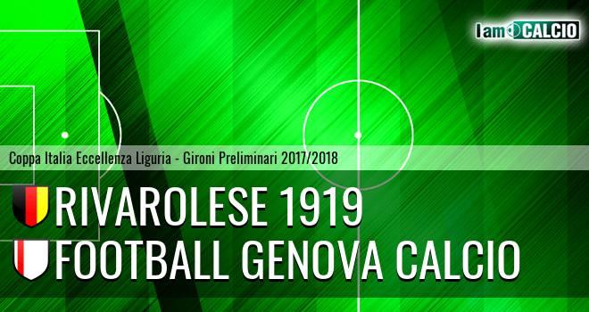 Rivarolese 1919 - Football Genova Calcio