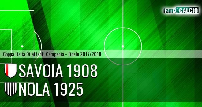 Savoia 1908 - Nola 1925 5-3. Cronaca Diretta 15/02/2018