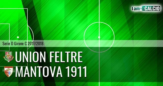Union Feltre - Mantova 1911