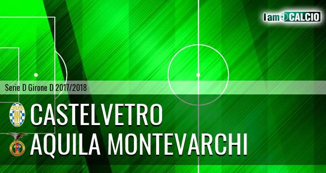 Castelvetro - Aquila Montevarchi
