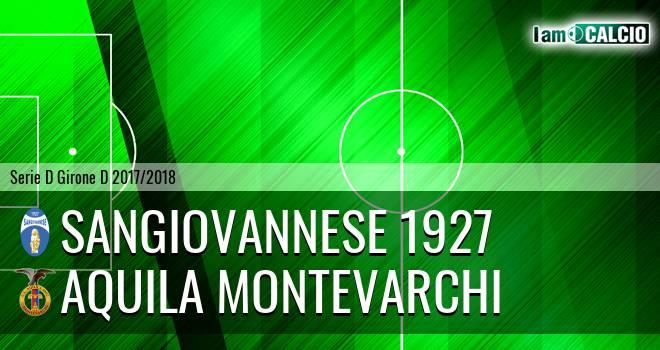 Sangiovannese - Aquila Montevarchi