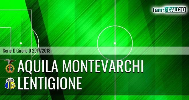 Aquila Montevarchi - Lentigione