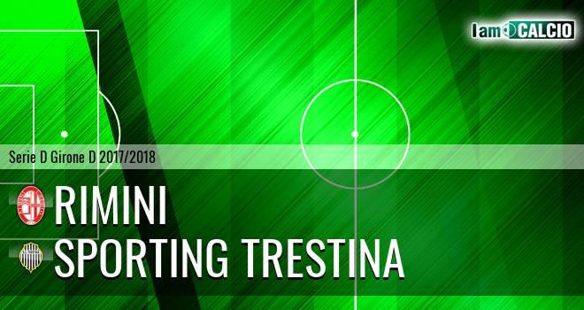 Rimini - Sporting Trestina