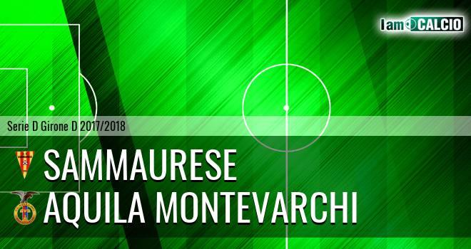 Sammaurese - Aquila Montevarchi
