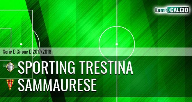 Sporting Trestina - Sammaurese