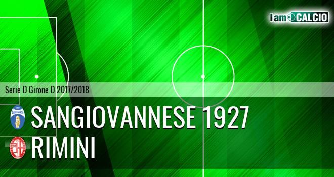 Sangiovannese - Rimini