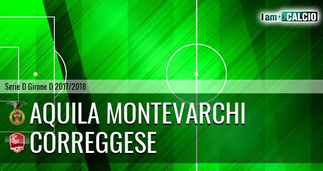 Aquila Montevarchi - Correggese