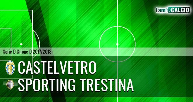 Castelvetro - Sporting Trestina
