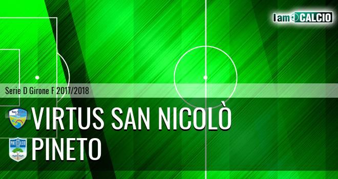 Virtus San Nicolò - Pineto