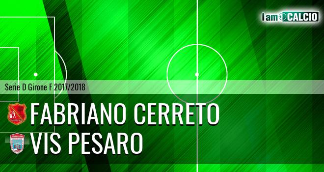 Fabriano Cerreto - Vis Pesaro