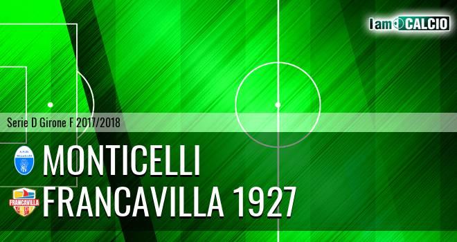 Monticelli - Francavilla 1927 0-2. Cronaca Diretta 14/02/2018