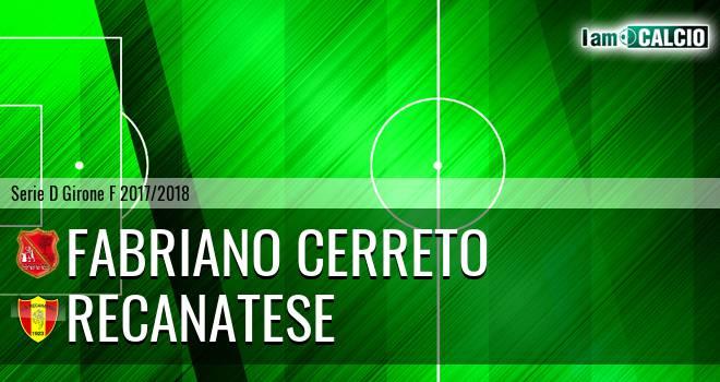 Fabriano Cerreto - Recanatese