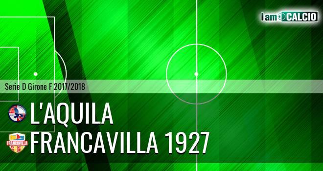 L'Aquila - Francavilla 1927