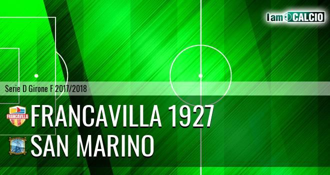 Francavilla 1927 - Cattolica Calcio SM