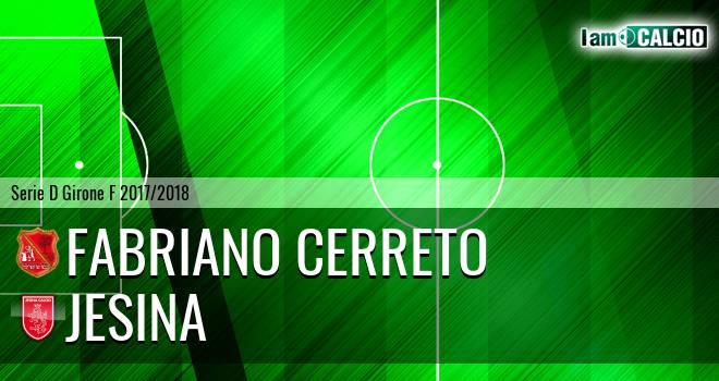 Fabriano Cerreto - Jesina
