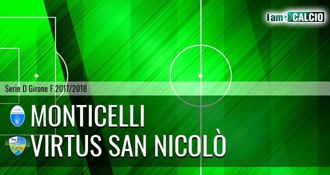 Monticelli - Virtus San Nicolò Teramo