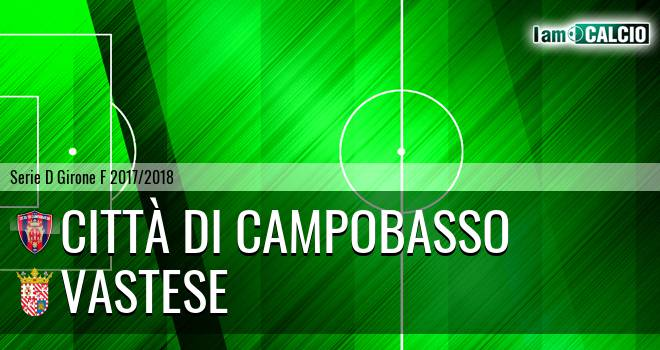 Città di Campobasso - Vastese 1-0. Cronaca Diretta 21/04/2018