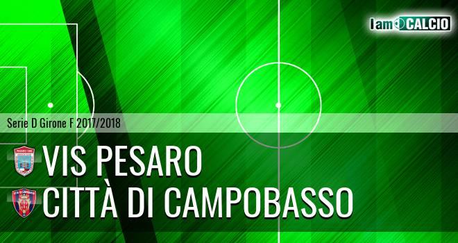 Vis Pesaro - Città di Campobasso