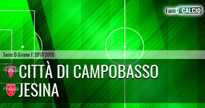 Città di Campobasso - Jesina 3-2. Cronaca Diretta 06/05/2018
