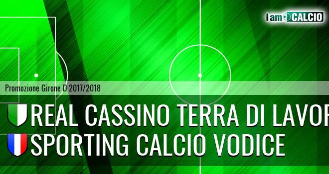 Real Cassino Terra di Lavoro - Sporting Calcio Vodice