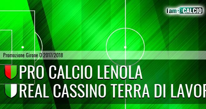 Pro Calcio Lenola - Real Cassino Terra di Lavoro