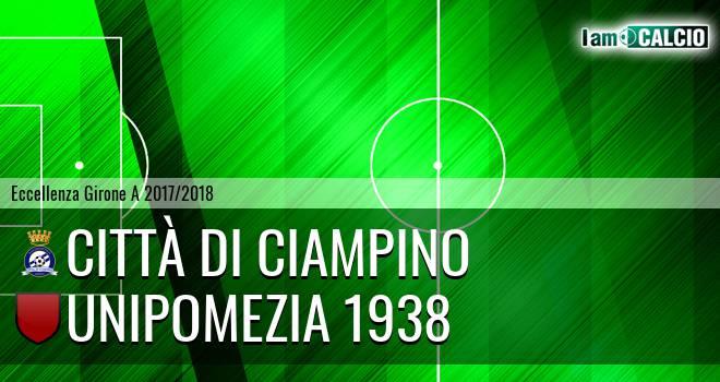 Città di Ciampino - Unipomezia 1938