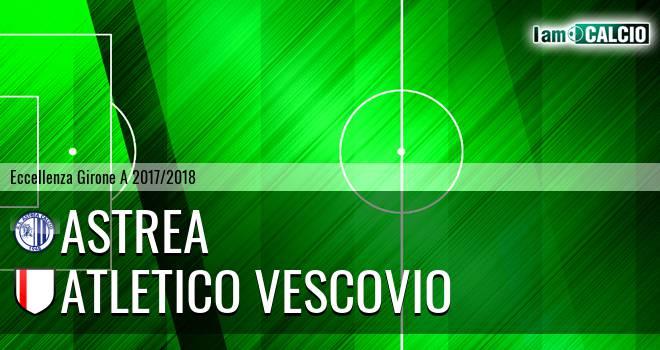 Astrea - Atletico Vescovio