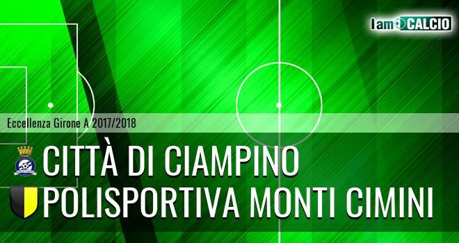 Città di Ciampino - Polisportiva Monti Cimini