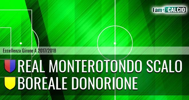 Real Monterotondo Scalo - Boreale Donorione