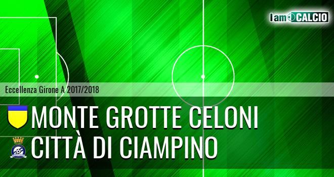 Monte Grotte Celoni - Città di Ciampino