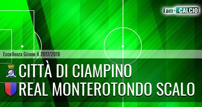 Città di Ciampino - Real Monterotondo Scalo