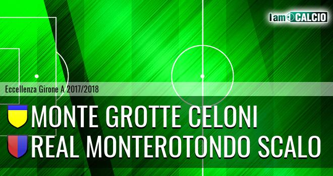 Monte Grotte Celoni - Real Monterotondo Scalo