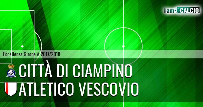 Città di Ciampino - Atletico Vescovio