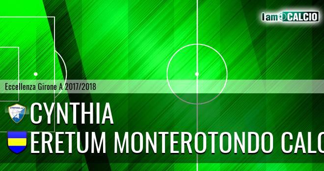 Cynthia - Eretum Monterotondo Calcio
