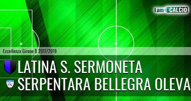 Latina S. Sermoneta - Serpentara Bellegra Olevano