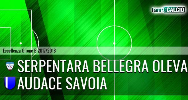 Serpentara Bellegra Olevano - Audace Savoia