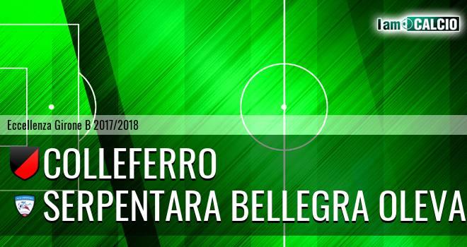 Colleferro - Serpentara Bellegra Olevano