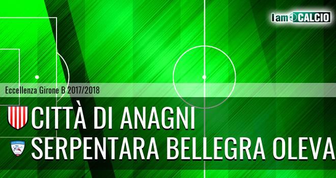 Città di Anagni - Serpentara Bellegra Olevano