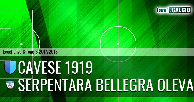 Cavese 1919 - Serpentara Bellegra Olevano