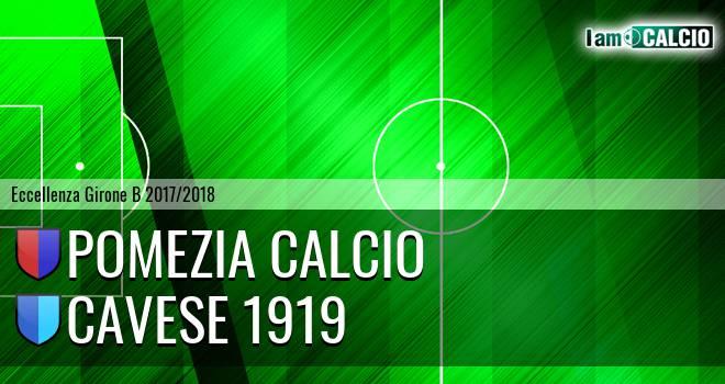 Pomezia - Cavese 1919