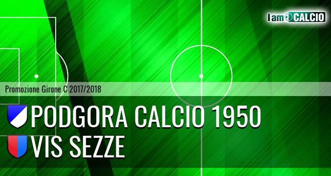 Podgora calcio 1950 - Vis Sezze