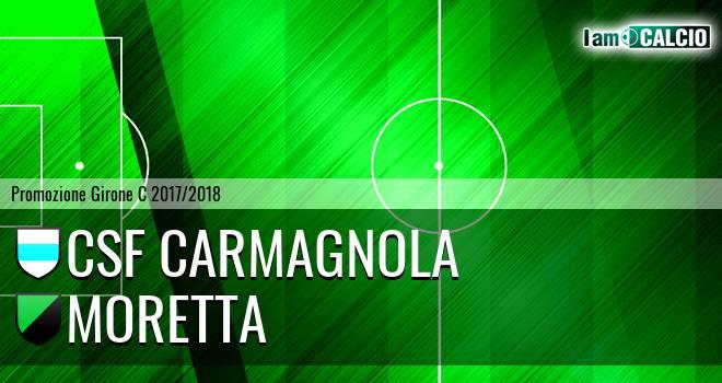 Csf Carmagnola - Moretta