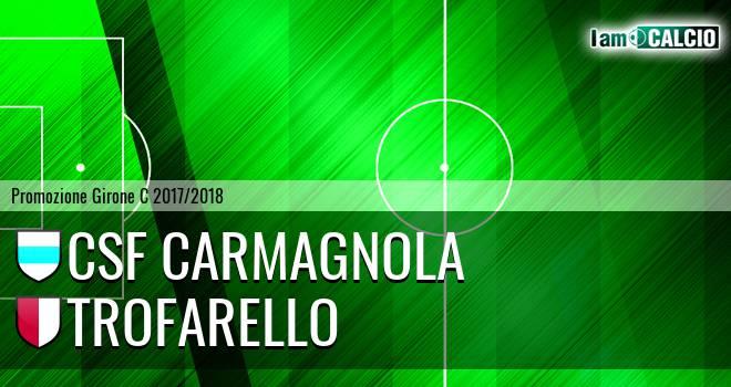 Csf Carmagnola - Trofarello