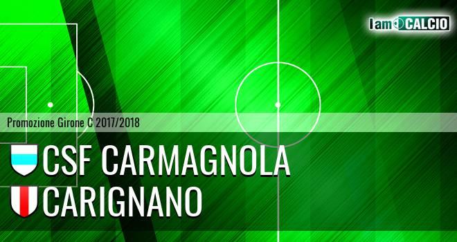 Csf Carmagnola - Carignano