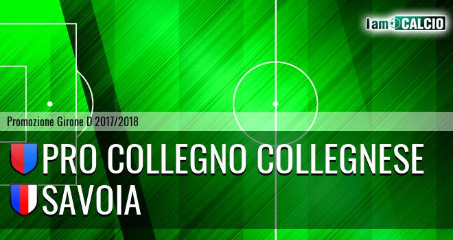 Pro Collegno Collegnese - Savoia