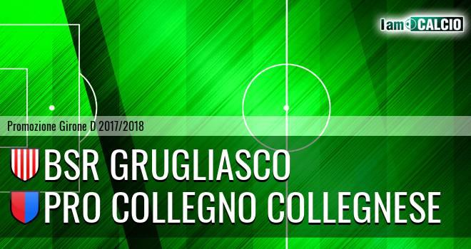 Bsr Grugliasco - Pro Collegno Collegnese