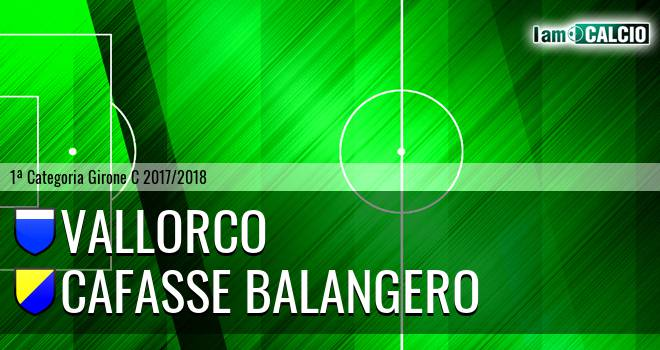 Vallorco - Cafasse Balangero