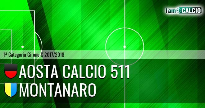 Aosta Calcio 511 - Montanaro